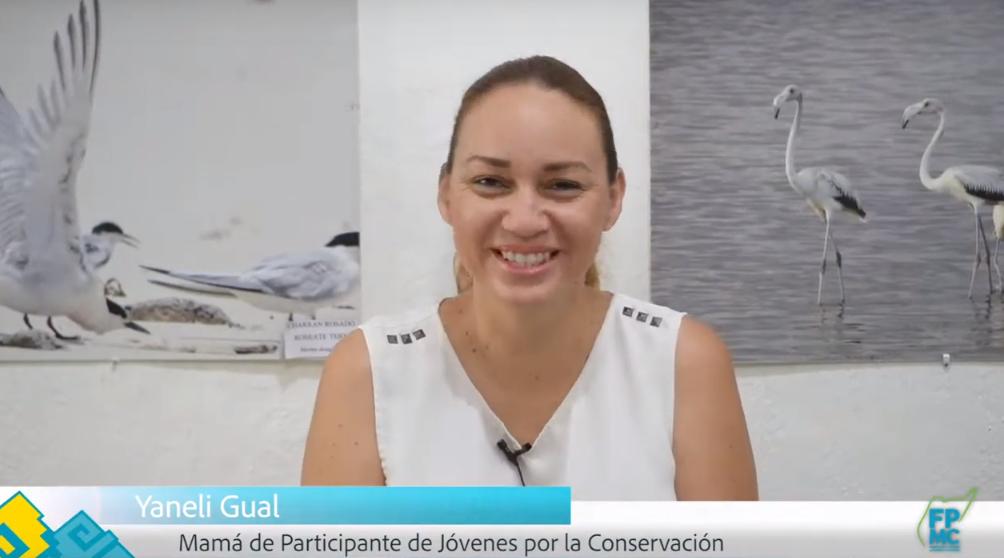 Testimonio de madre de participante de jóvenes por la conservación