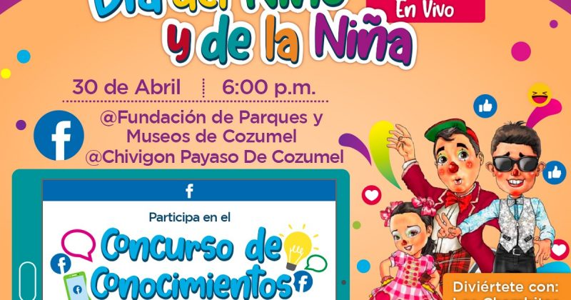 Celebra con nosotros a los niños y las niñas de Cozumel
