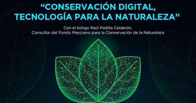 """LA FPMC INVITA A LA CONFERENCIA VIRTUAL """"CONSERVACIÓN DIGITAL, TECNOLOGÍA PARA LA NATURALEZA"""""""