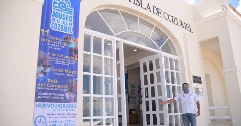 LA FPMC ABRIÓ NUEVAMENTE LAS PUERTAS DEL MUSEO DE LA ISLA