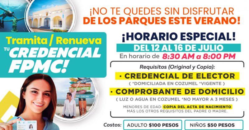 LA FPMC AMPLIARÁ HORARIO DE ATENCIÓN DE MÓDULO DE CREDENCIALIZACIÓN