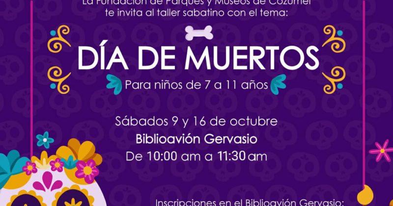 """LA FPMC INVITA A NIÑOS Y NIÑAS A PARTICIPAR EN EL TALLER """"DÍA DE MUERTOS"""""""